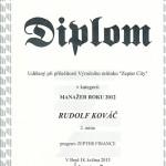 Rudolf Kováč špecialista na zlato