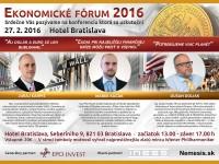 Ekonomické fórum 2016