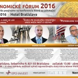 Prvé ekonomické fórum zodpovie všetky vaše otázky nielen o zlate